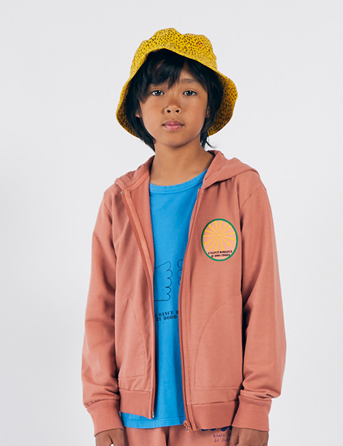 [BOBO CHOSES] Sunrise Zipped Hoodie [4-5y, 6-7y]
