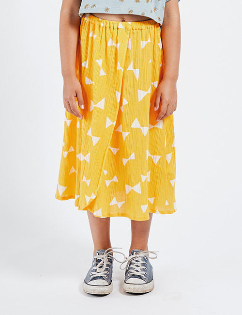 [BOBO CHOSES] All Over Bow Wrap Midi Skirt [ 2-3y,, 8-9y, 10-11y]
