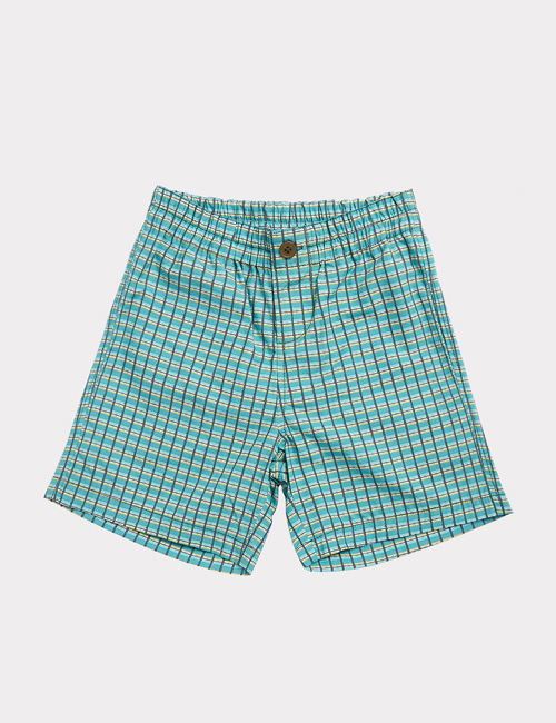 [CARAMEL]BARBICAN BERMUDAS _ TOURMALINE PAINTED CHECK [8y]