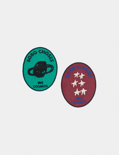 [BOBO CHOSES] We Cosmos Pack of 2 Patch