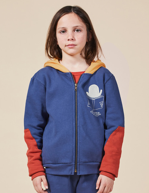 [BOBO CHOSES] Translator Zipped Hoodie [10-11y]