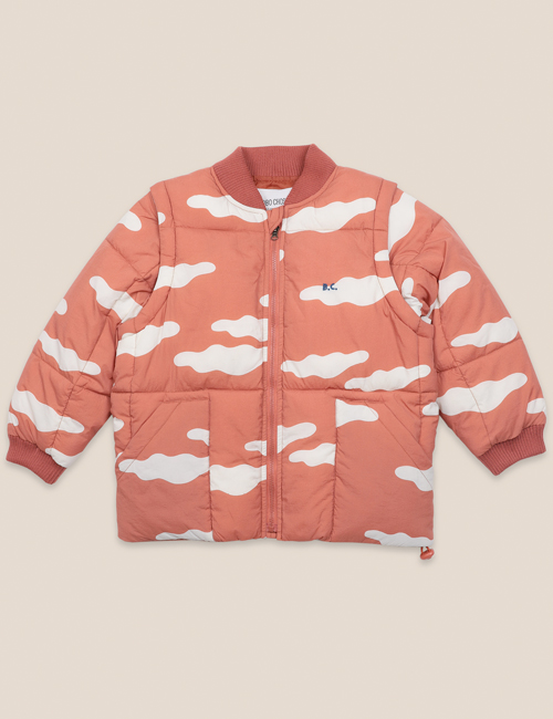 [BOBO CHOSES] Clouds All Over Padded Jacket [4-5y]