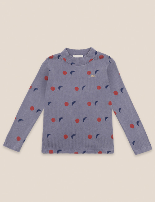 [BOBO CHOSES] Night All Over Turtle Neck T-shirt [6-7y, 8-9y]
