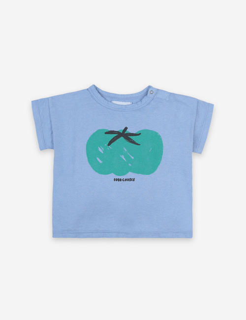 [BOBO CHOSES] Tomato Short Sleeve T-shirt[18-24m]