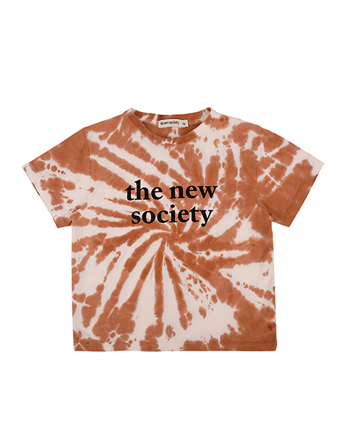 [THE NEW SOCIETY]  THE NEW SOCIETY TEE _  CARAMEL[6Y, 10Y, 12Y]