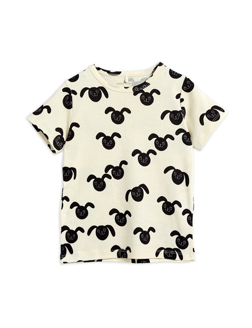 [MINI RODINI] Rabbits aop ss tee _ Black[80/86, 92/98, 104/110]