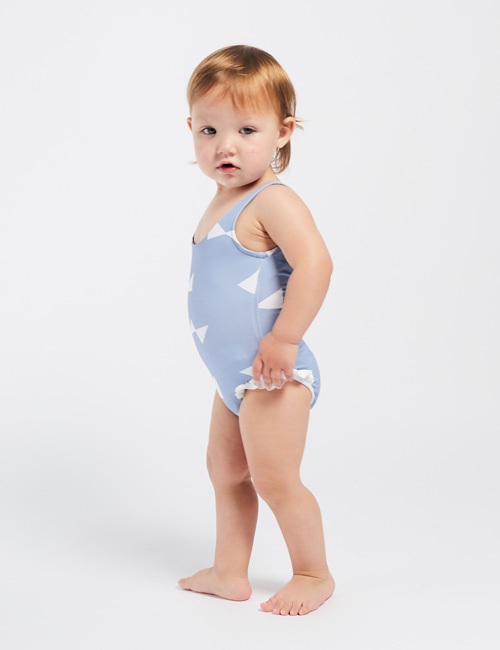 [BOBO CHOSES] All Over Bow Baby Swimsuit [24-36m]