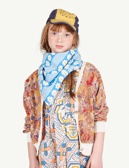 [T.A.O]MULTICOLOR RACOON KIDS CARDIGAN _ MULTI
