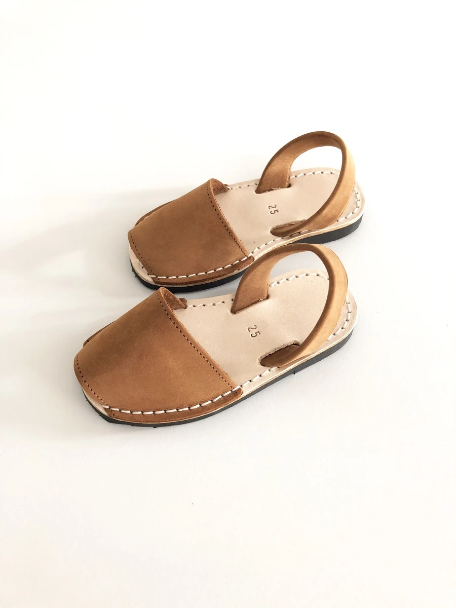 [LIILU]Menorquinas Kids Shoes _ Cheatnut [30]