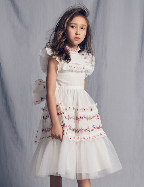 [NELLY STELLA]  Julianna Dress _ Bright White