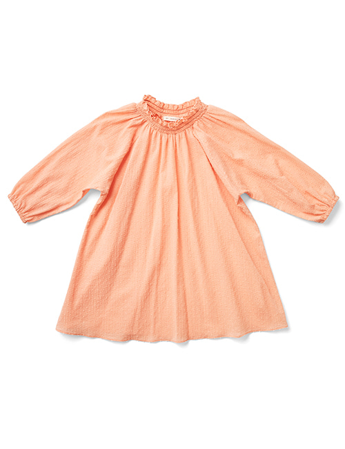 [SOOR PLOOM] CLAUDETTE DRESS - Melon[2-3Y, 4-5Y, 6-7Y]