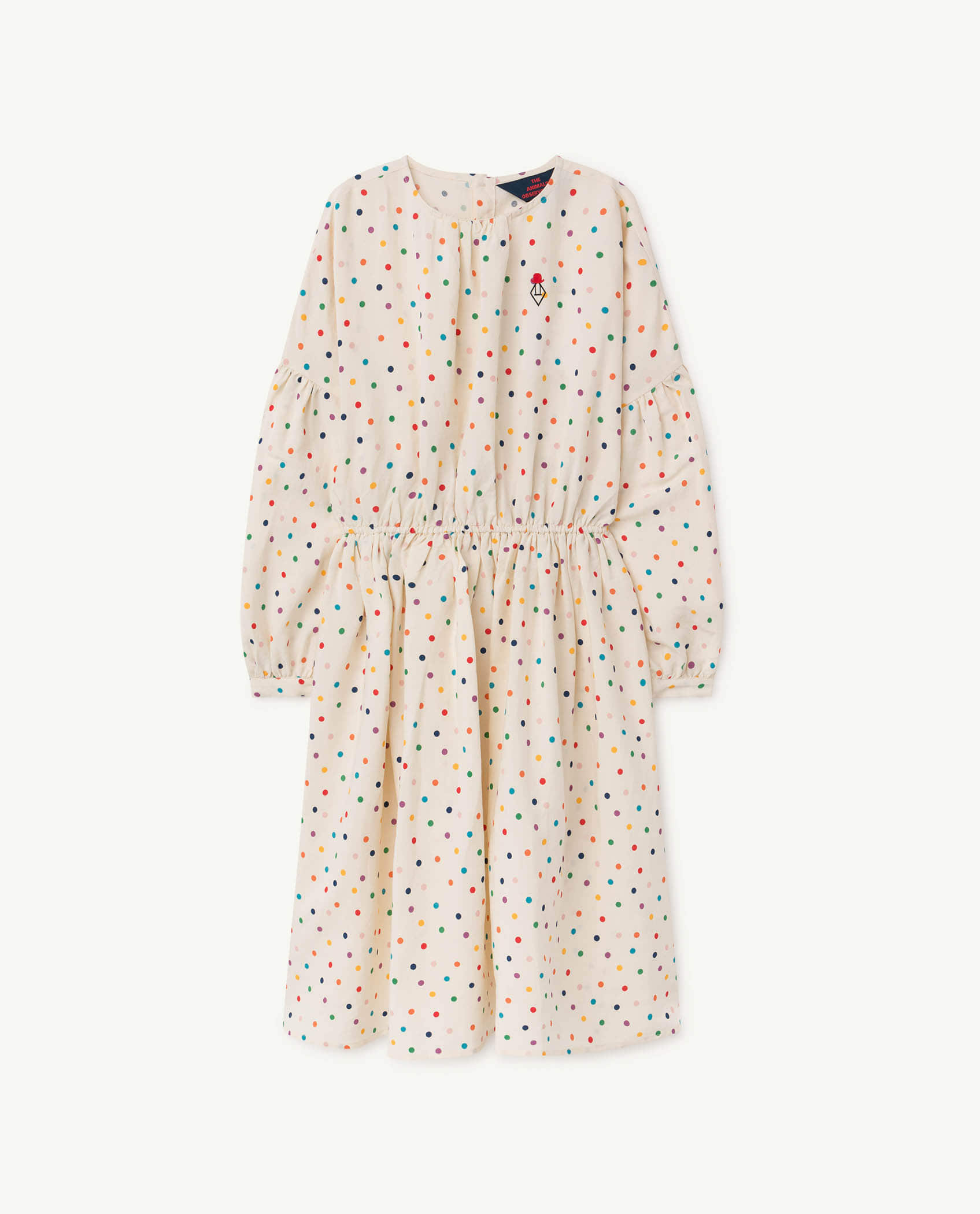 [T.A.O] DOTS TORTOISE KIDS DRESS _ WHITE [4Y, 12Y]