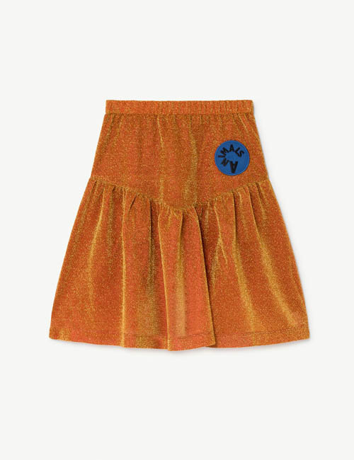 [T.A.O] TURKEY KIDS SKIRT _ ORANGE[2Y, 6Y ]