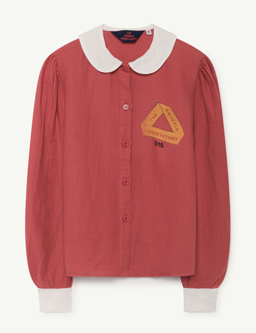 [T.A.O] KANGAROO KIDS SHIRT RED TRIANGLE  [6y]