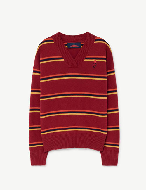 [T.A.O] TOUCAN KIDS SWEATER _ BURGUNDY [3Y]