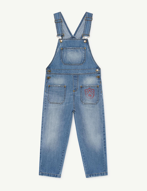 [T.A.O]MULE KIDS JUMPSUIT INDIGO SHIELD [2y ,3y, 4y]