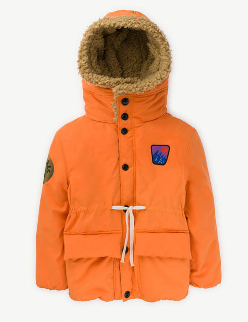 [T.A.O] CALF KIDS JACKET _ ORANGE  [2Y]