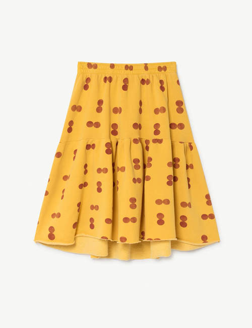 [T.A.O] CAT KIDS SKIRT _ YELLOW [2Y]