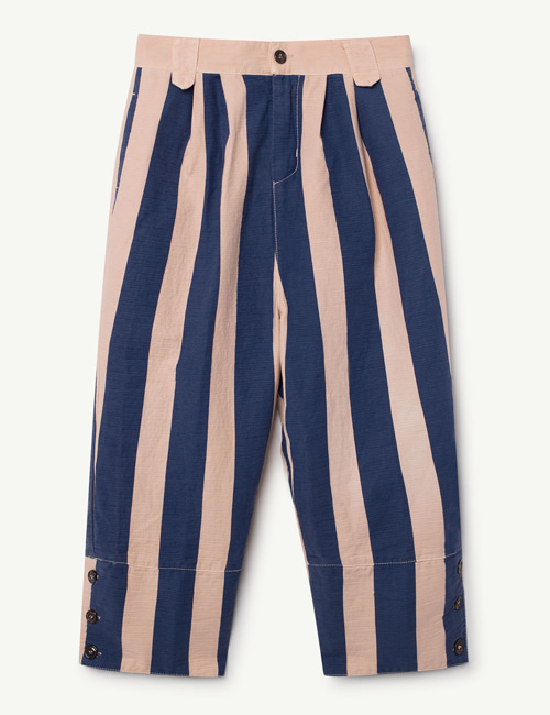 [T.A.O] ELEPHANT KIDS PANTS ROSE BLUE STRIPES  [4y, 6y, 10y]