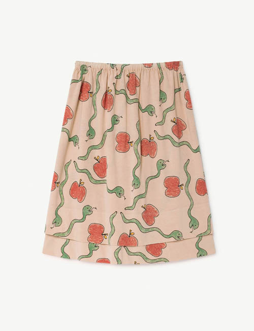 [T.A.O] KITTEN KIDS SKIRT _ PINK [3Y]