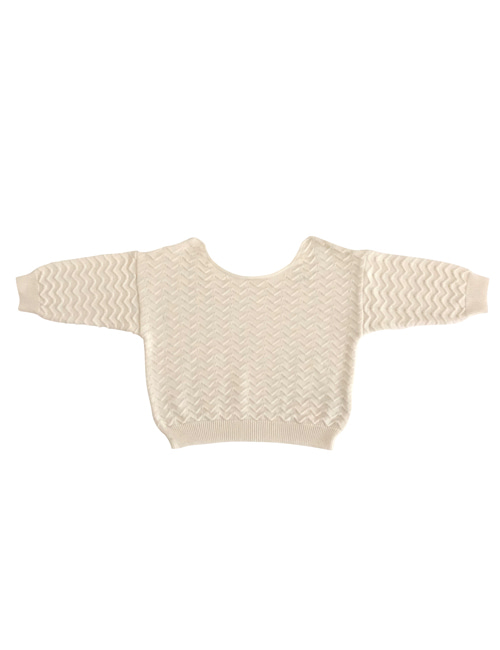 [LIILU] Knit Top _ Milk