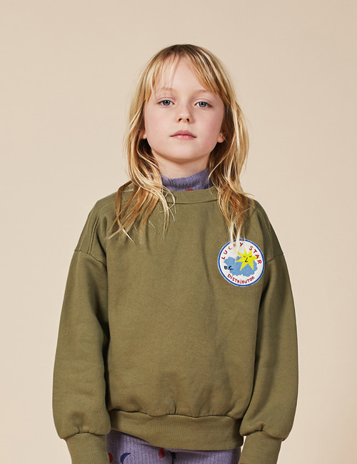 [BOBO CHOSES] Lucky Star Patch Sweatshirt[8-9y]
