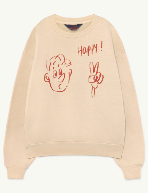 [T.A.O] BEAR KIDS+ SWEATSHIRT  Pink Happy