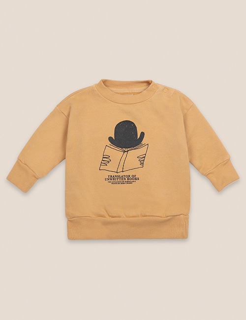 [BOBO CHOSES] Translator Sweatshirt [18-24M,24-36M]