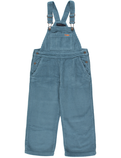 [TINY COTTONS]  SOLID OVERALL _ sea blue[4Y]