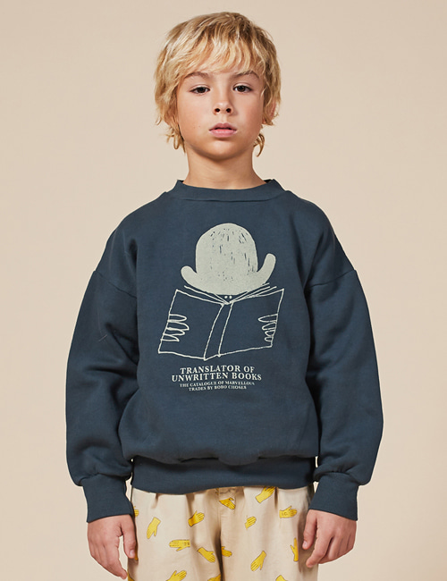 [BOBO CHOSES] Translator Sweatshirt [2-3y, 4-5y]