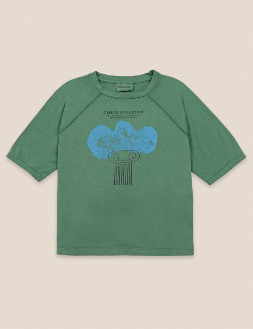 [BOBO CHOSES] Cloud Sculptor T-shirt [2-3Y]