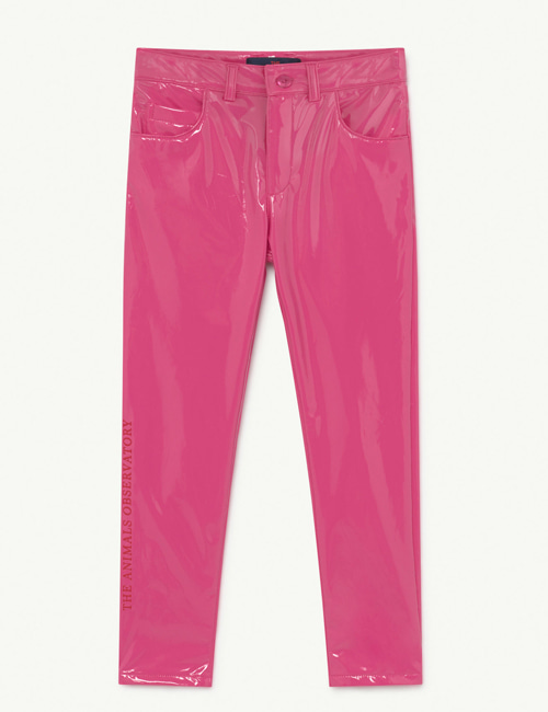 [T.A.O] MOSQUITO KIDS TROUSERS PINK THE ANIMALS [4Y]