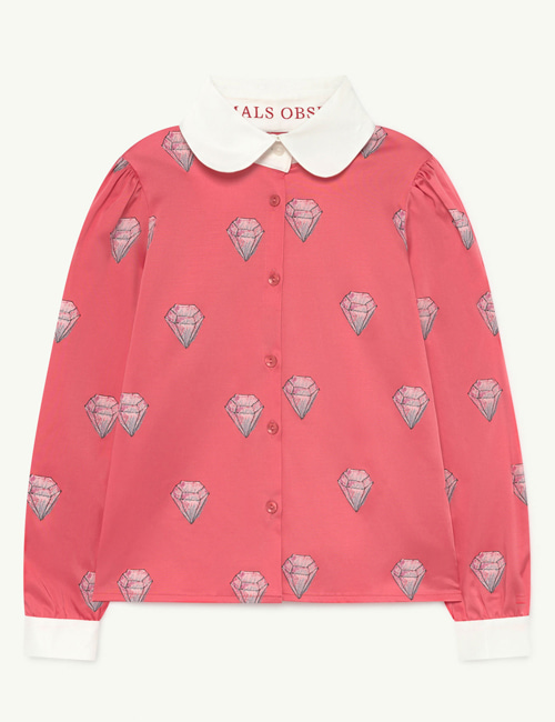 [T.A.O] CANARY KIDS SHIRT Pink Diamonds [3Y, 4Y, 6Y, 10Y]