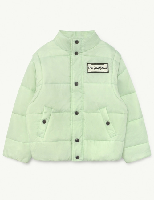 [T.A.O] LEMUR KIDS+ JACKET Mint The Animals [4Y,  14Y]