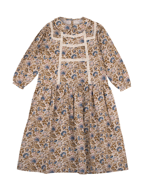 [THE NEW SOCIETY] LUISA DRESS _  VINTAGE FLOWERS [4Y]