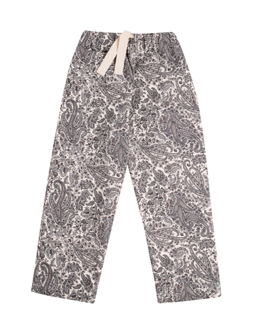[THE NEW SOCIETY] PARIS PANTS _   PAISLEY[10Y, 12Y]