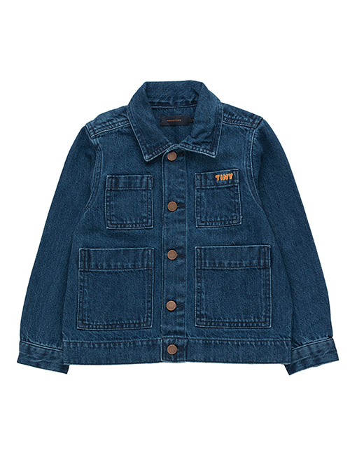 [TINY COTTONS] DENIM JACKET _ denim [4Y,8Y, 10Y]