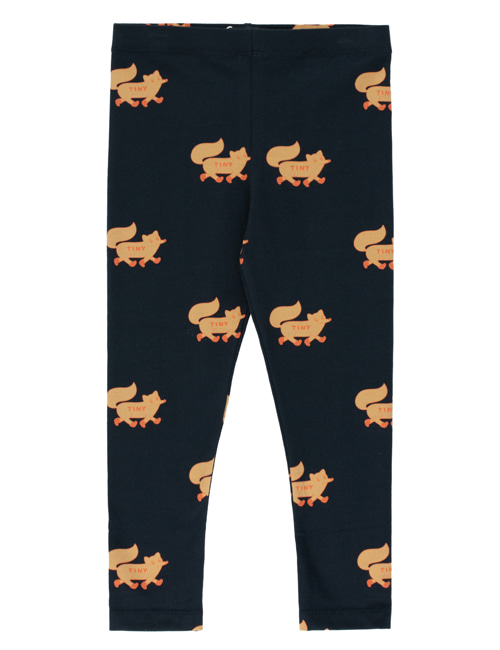 "[TINY COTTONS]  ""FOXES"" PANT _ navy/camel [2Y, 6Y]"