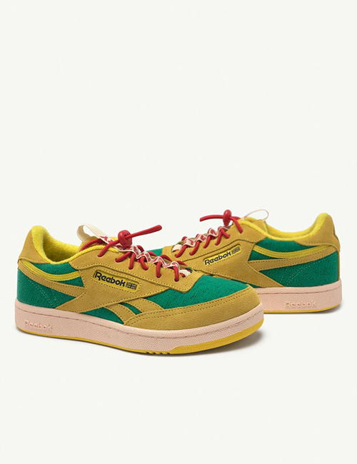 [T.A.O] Reebok Classic Nylon Kids x The Animals Observatory-Yellow (FX 1118) [27]