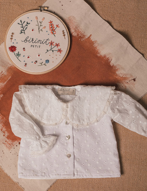 [BIRINIT PETIT] Very cool long sleeve shirt [4Y, 5Y]