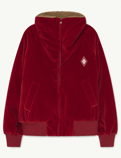 [T.A.O] TIGER KIDS JACKET RED LOGO [4Y, 6Y, 8Y, 10Y]