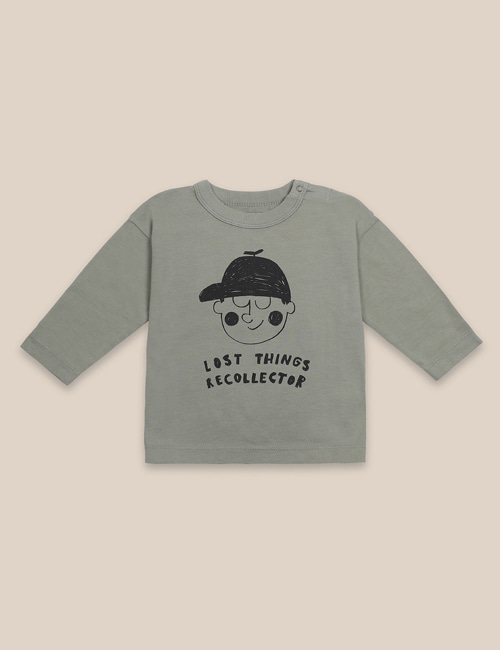 [BOBO CHOSES] Boy Long Sleeve T-Shirt [12-18m, 18-24m]