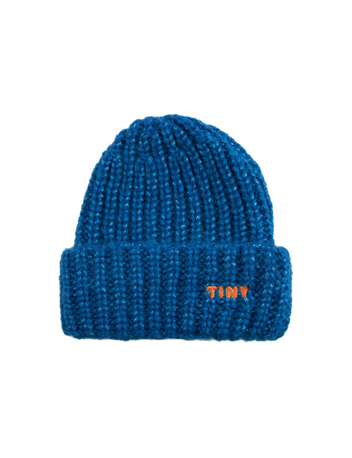 "[TINY COTTONS]  ""TINY"" BEANIE _ blue"