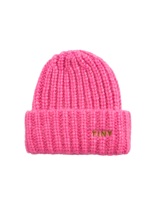 "[TINY COTTONS]  ""TINY"" BEANIE _ bubble gum"