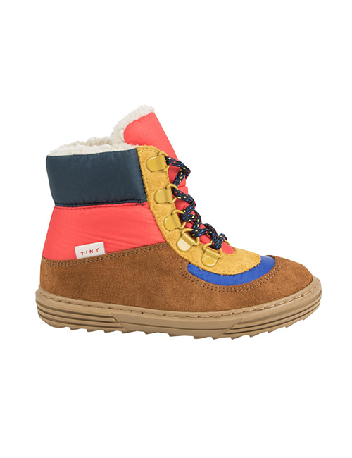 [TINY COTTONS] COLOR BLOCK CHUNKY BOOT _ multicolor  [29]