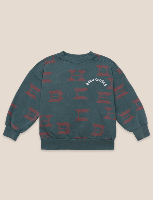 [BOBO CHOSES] Bobo Choses All Over Sweatshirt [2-3y, 4-5y]