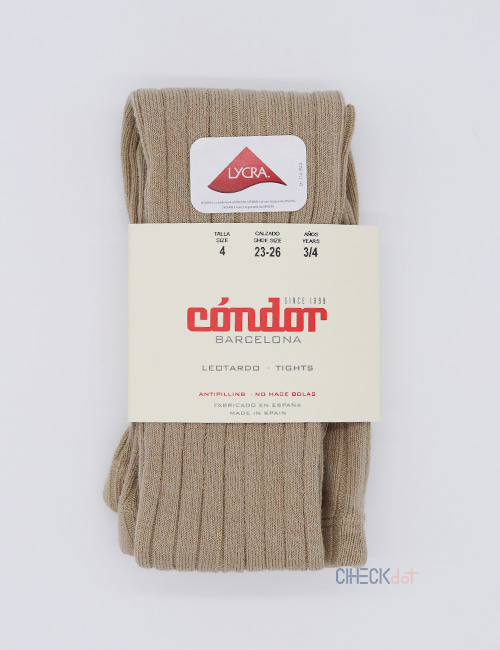 [CONDOR] BASIC RIB TIGHTS _ ROPE (331) [2Y, 4Y, 6Y, 8Y]