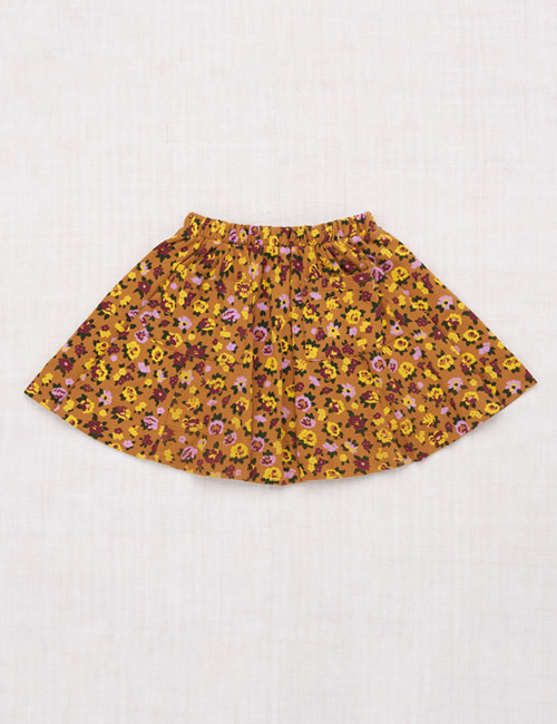 [MISHAANDPUFF]Circle Skirt _ Bronze Brimfield Print