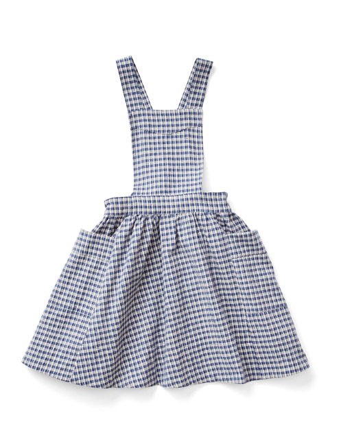 [SOOR PLOOM]Harriet Pinafore, Picnic Cloth [5Y,6Y,8Y,10Y]
