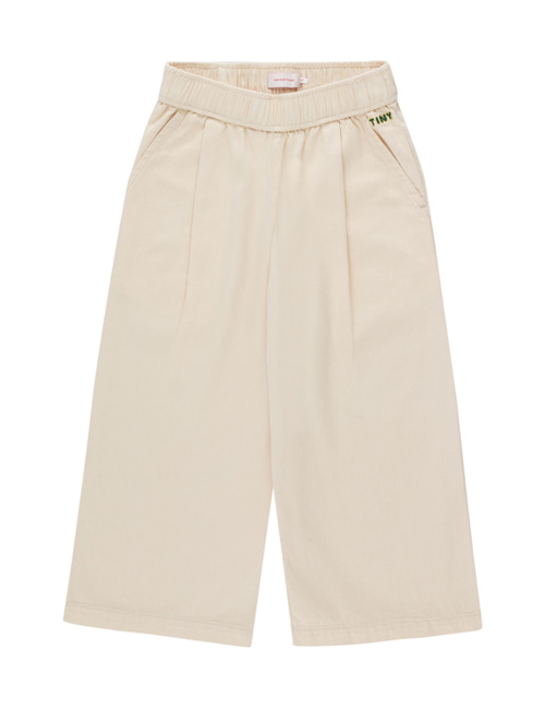 [TINY COTTONS] SOLID WIDE PANT _ cream[6Y,10Y]